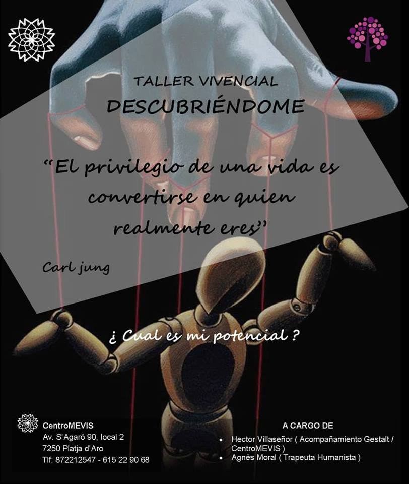Taller vivencial Descobrint-me - Abril 2019 | Centromevis